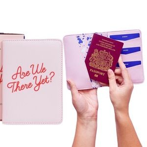 THE STUDIO ASOS Are We There Yet Passport Cover OS
